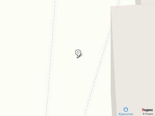 Красотка на карте Ижевска