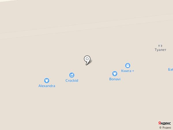 Бриолетт на карте Ижевска