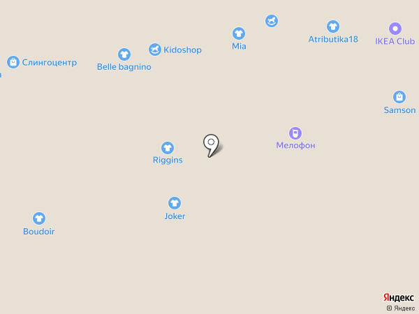Love на карте Ижевска