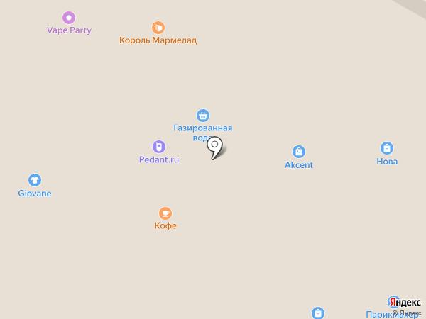 Akcent на карте Ижевска