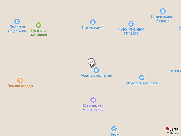 Медовая ярморка на карте Ижевска