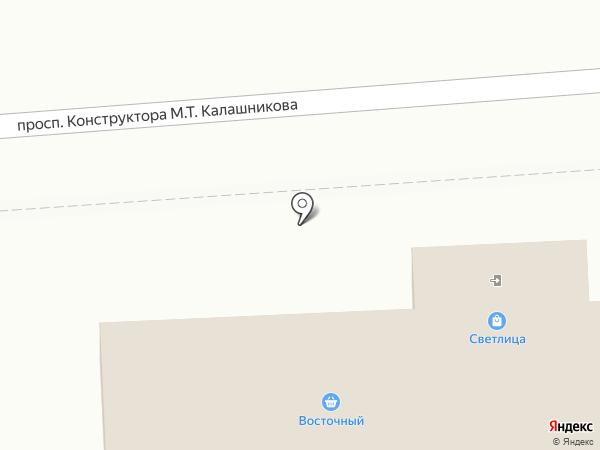 Пекарница на карте Ижевска