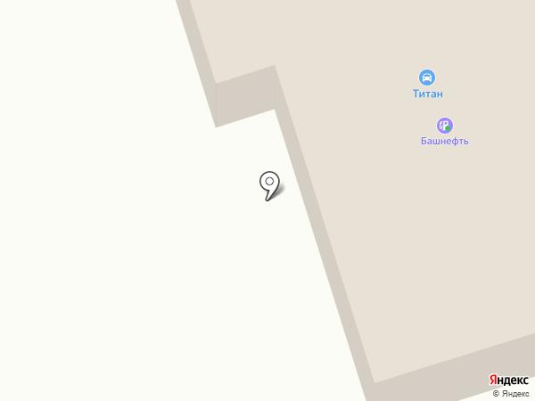 Биринг на карте Ижевска
