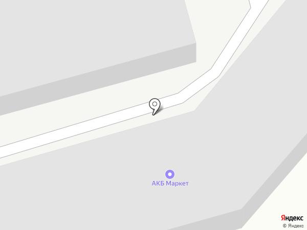 Магазин автомобильных аккумуляторов на карте Ижевска
