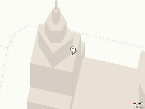 Свято-Никольский храм с. Завьялово на карте Завьялово