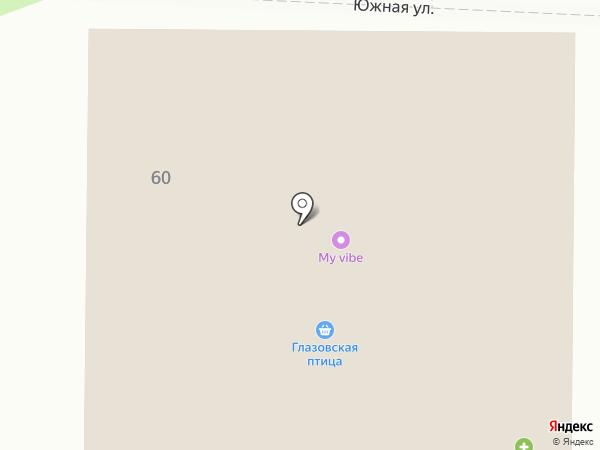 Восточный на карте Завьялово