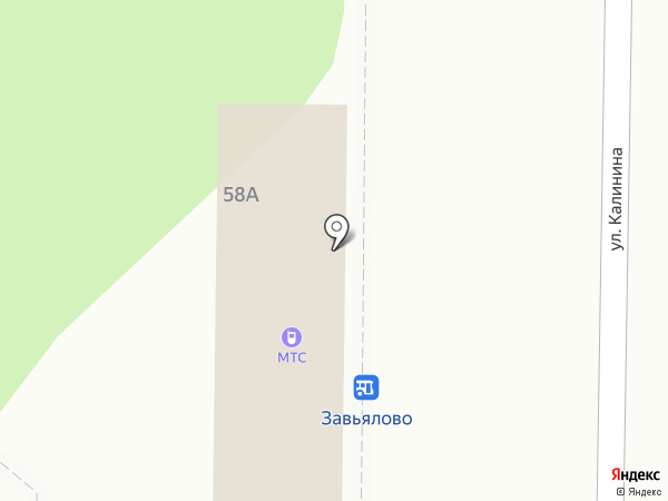 Алфавит на карте Завьялово