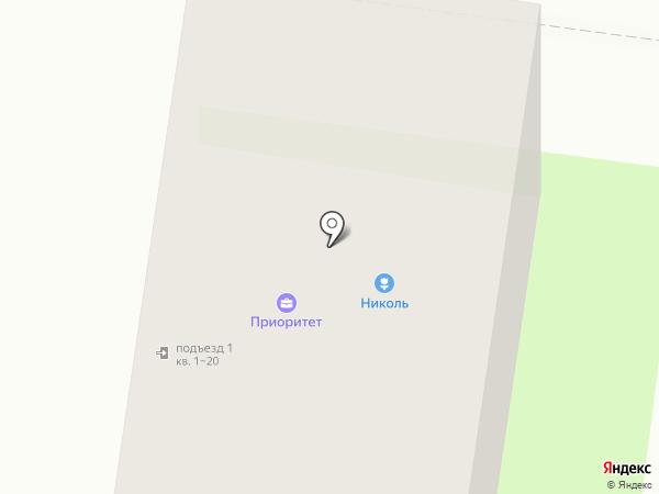 Николь на карте Октябрьского