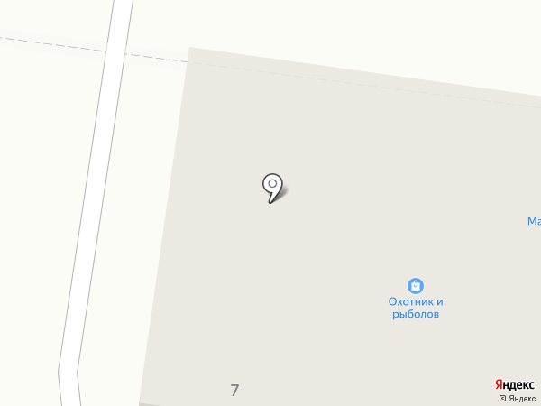 Малинка, продовольственный магазин на карте Октябрьского