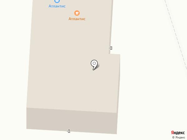 Атлантис на карте Октябрьского