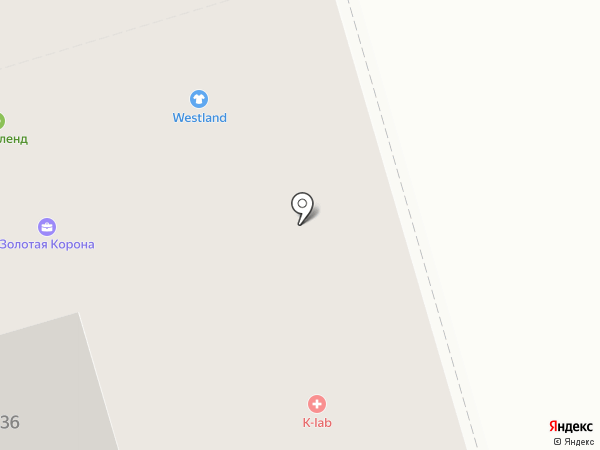Westland на карте Октябрьского