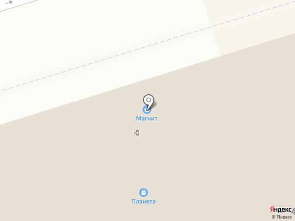 Планета на карте Октябрьского