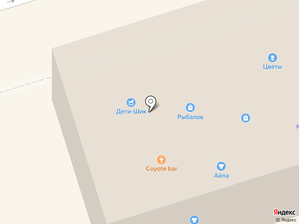 Каблучок на карте Октябрьского