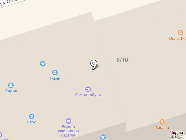 Салон белорусской косметики на карте Октябрьского