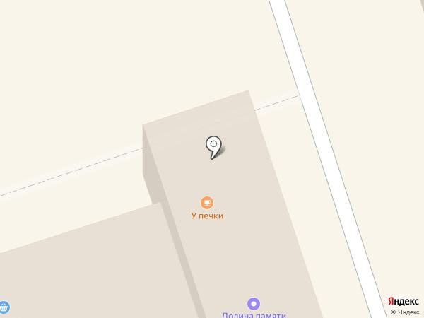 У печки на карте Октябрьского