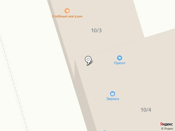 Ореол на карте Октябрьского