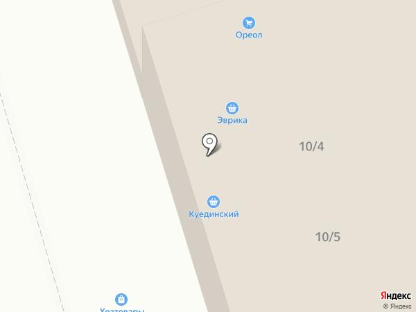 Магазин сантехники на карте Октябрьского