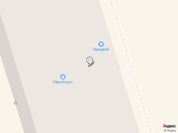Бродвей на карте Октябрьского