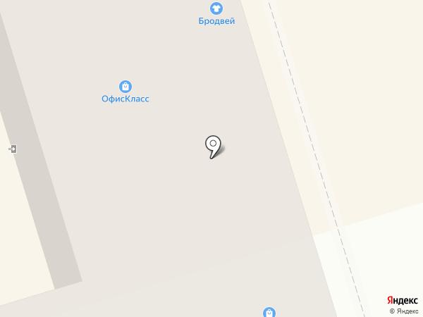 Офис-Класс на карте Октябрьского