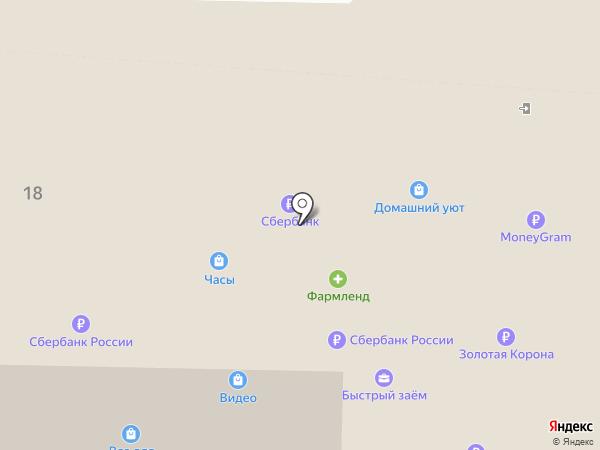 Цифроград на карте Октябрьского