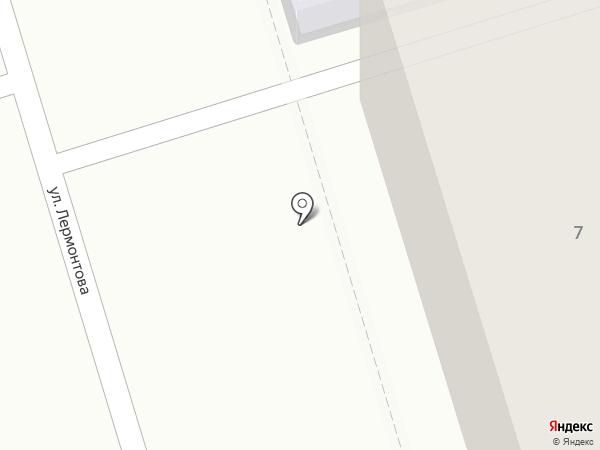Юничел на карте Октябрьского