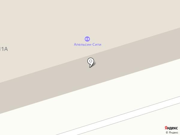 Апельсин-Сити на карте Октябрьского