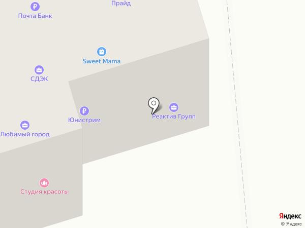 Добрая мебель на карте Октябрьского