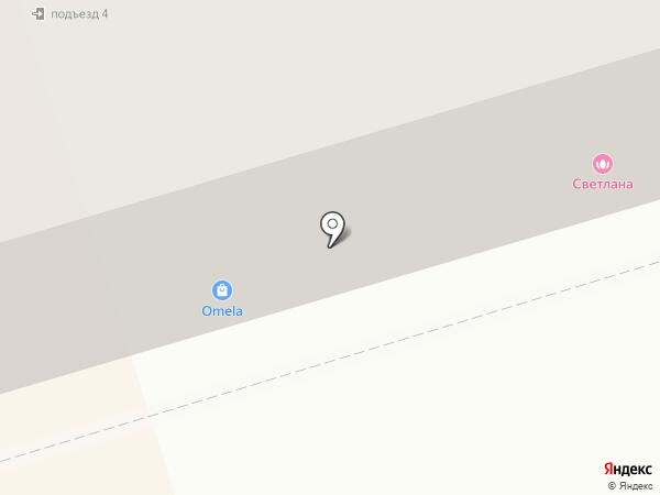 Светлана на карте Октябрьского