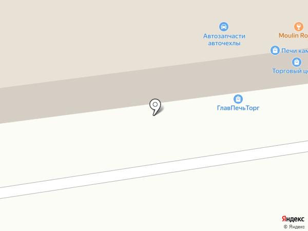 Автокореец на карте Октябрьского
