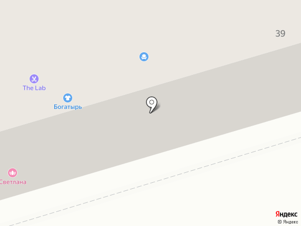 Джамиля на карте Октябрьского