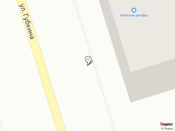 Невские шкафы на карте Октябрьского