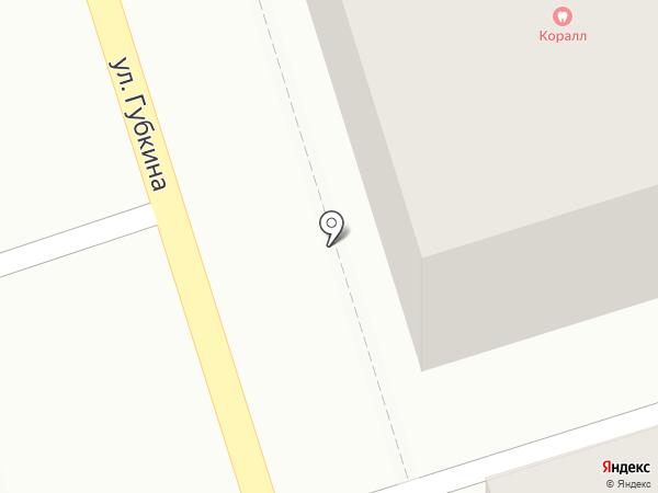 КОРАЛЛ на карте Октябрьского