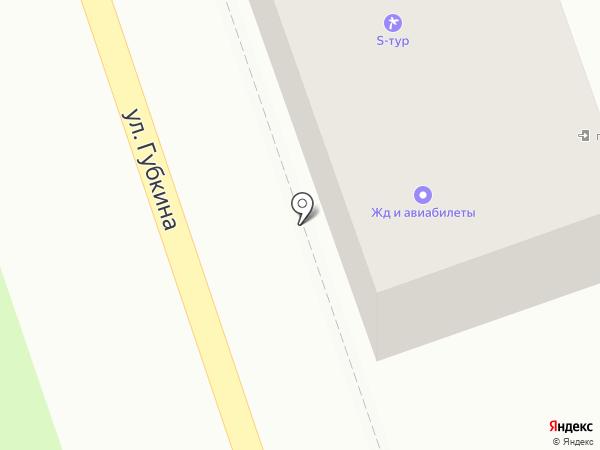 S-ТУР на карте Октябрьского