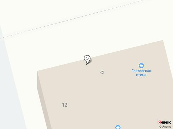 Восточный на карте Италмаса