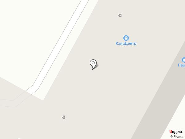 Паркер на карте Октябрьского