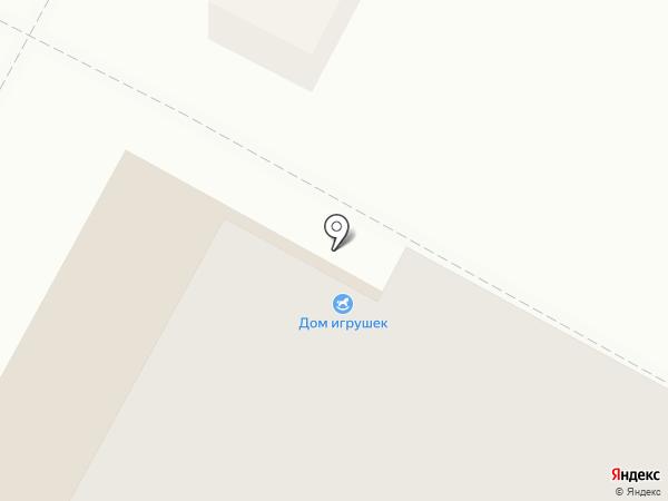 Дом игрушек на карте Октябрьского
