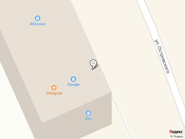 Абсолют-Центр на карте Октябрьского