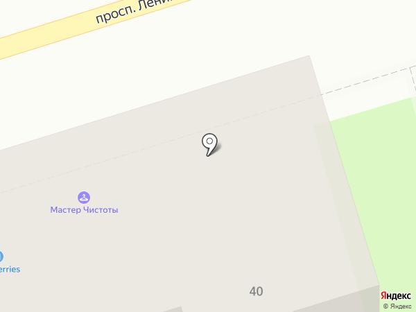 Командор на карте Октябрьского