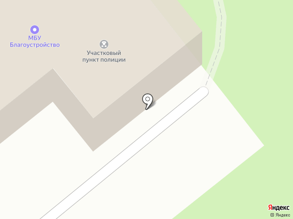 Участковый пункт полиции на карте Октябрьского