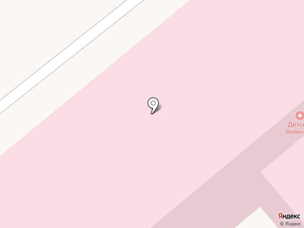Городская больница №1 на карте Октябрьского