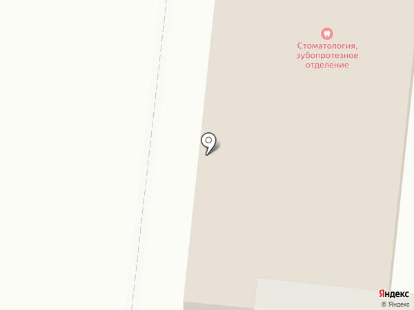 Стоматологическая поликлиника на карте Октябрьского