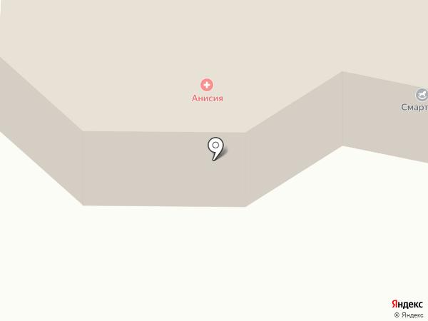 Анисия на карте Октябрьского