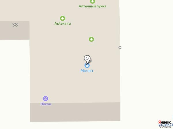 Спидвей на карте Девятого Января