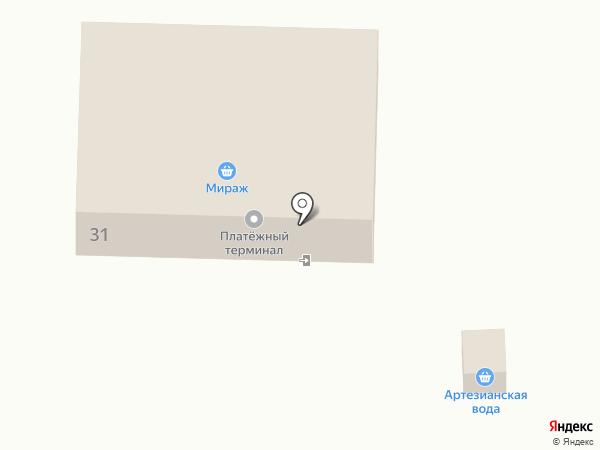 Мираж на карте Девятого Января