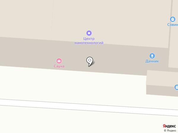 Сауна на карте Оренбурга