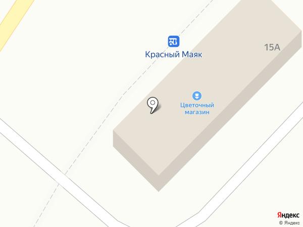 Цветочный магазин на карте Оренбурга