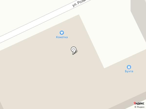Рузалина на карте Оренбурга