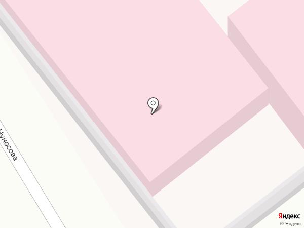 Городская клиническая больница №6 на карте Оренбурга