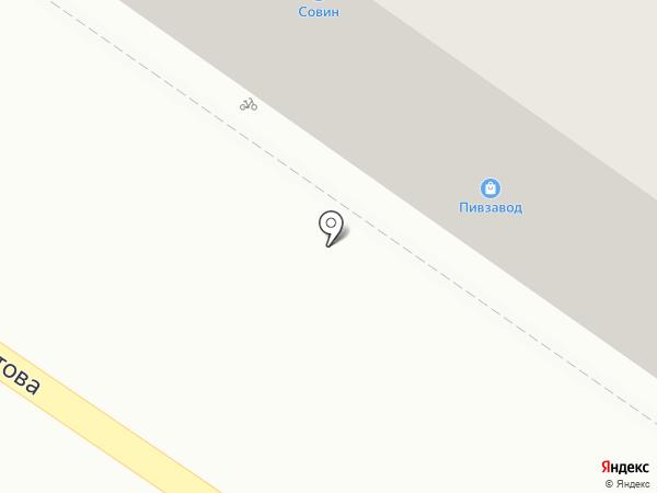 Полушка на карте Оренбурга