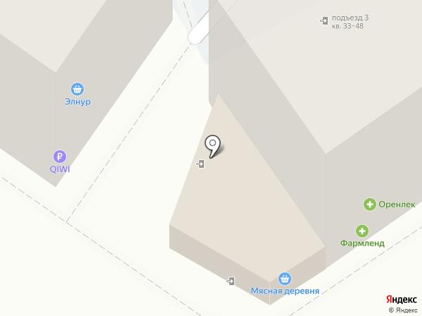 Домовенок на карте Оренбурга